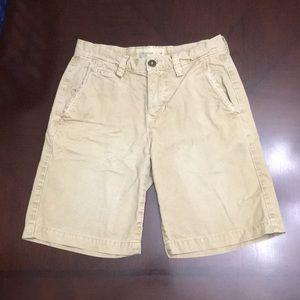 American Eagle prep Fit khaki shorts